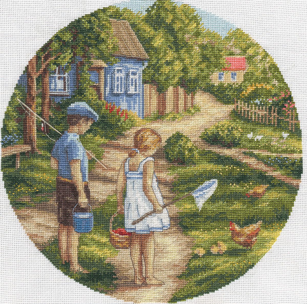 Embroidery kits PANNA D-1570 Childhood Path