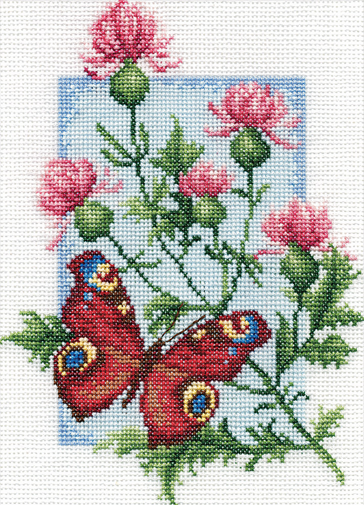 Embroidery kits PANNA B-0117 Peacock