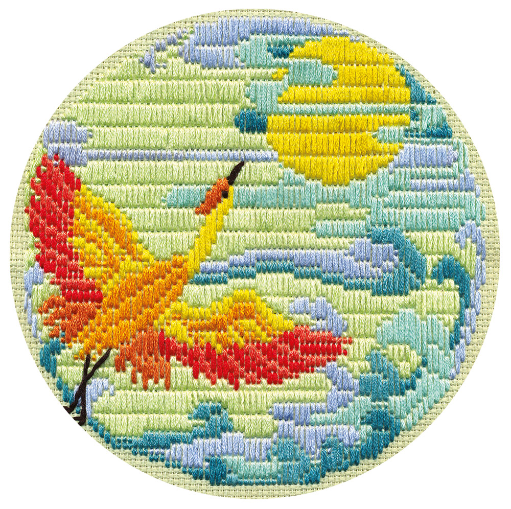 Embroidery kits PANNA PT-0757 Crane