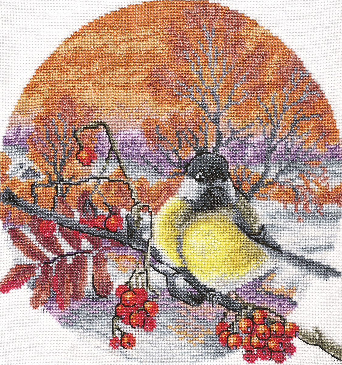 Embroidery kits PANNA PT-0165 Frosty Evening