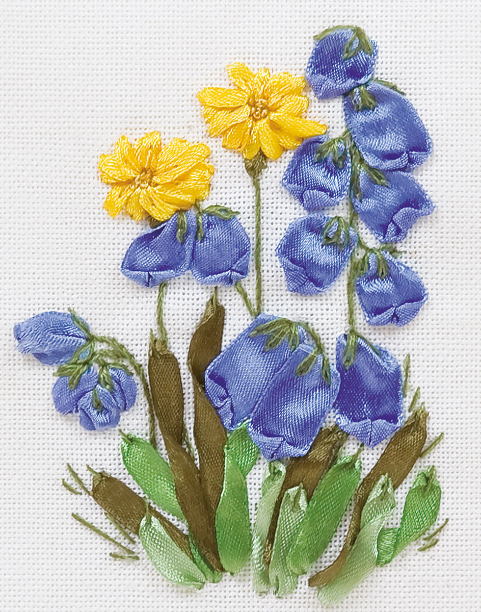 Embroidery kits PANNA C-0942 Bluebells and Dandelions