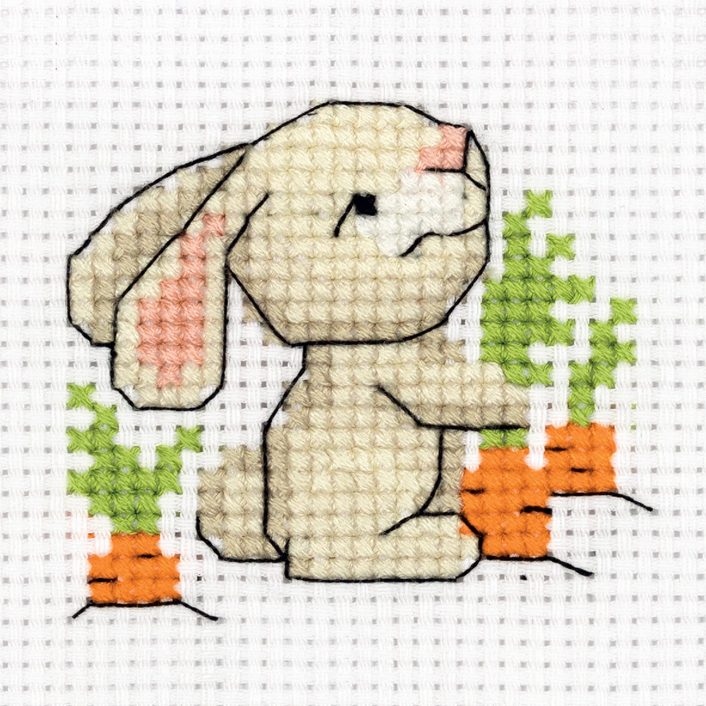 Embroidery kits PANNA 8-341 Bunny with a Carrot