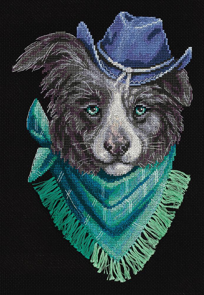 Panna Cross Stitch Kit Loyal Husky