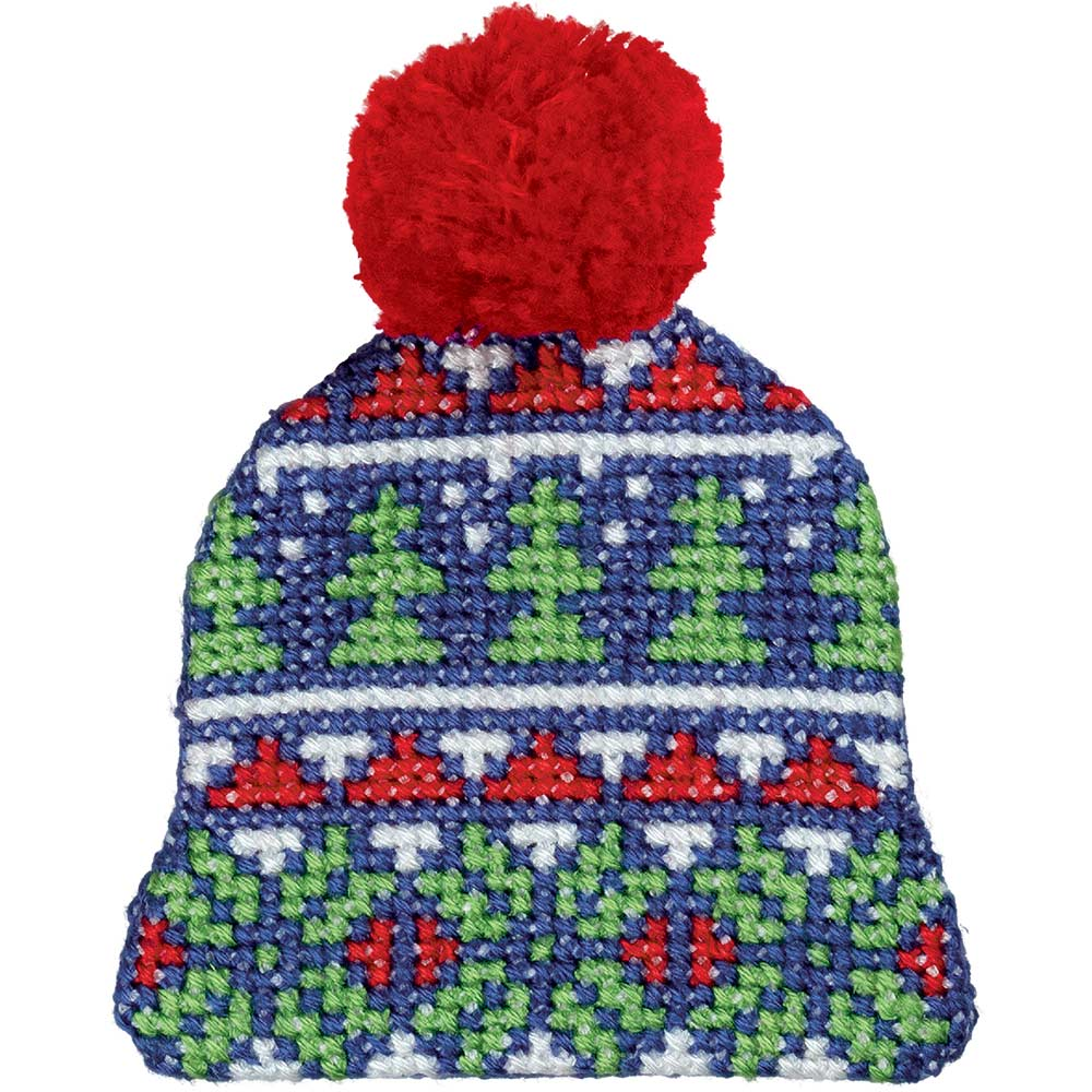 Embroidery kits PANNA 8-398  Christmas Trees Hat