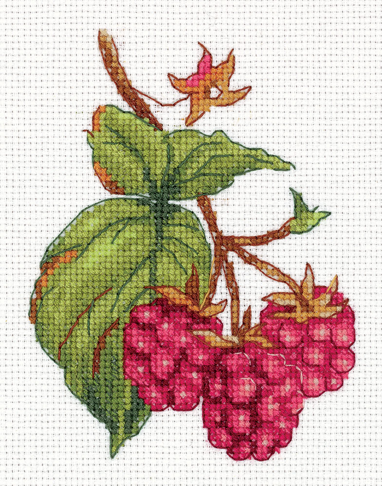 Embroidery kits PANNA 8-339 Raspberry