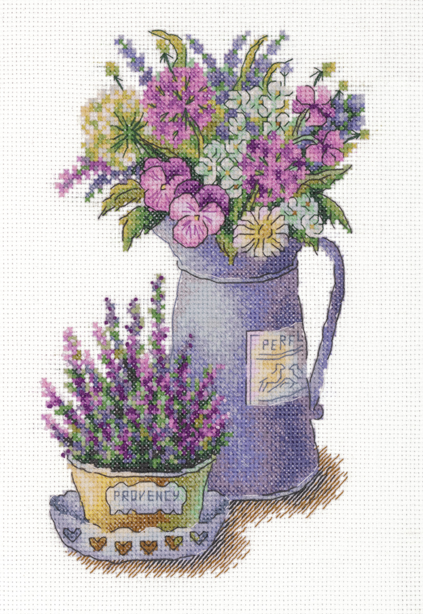 Embroidery kits PANNA C-7125 Flowers of Provence