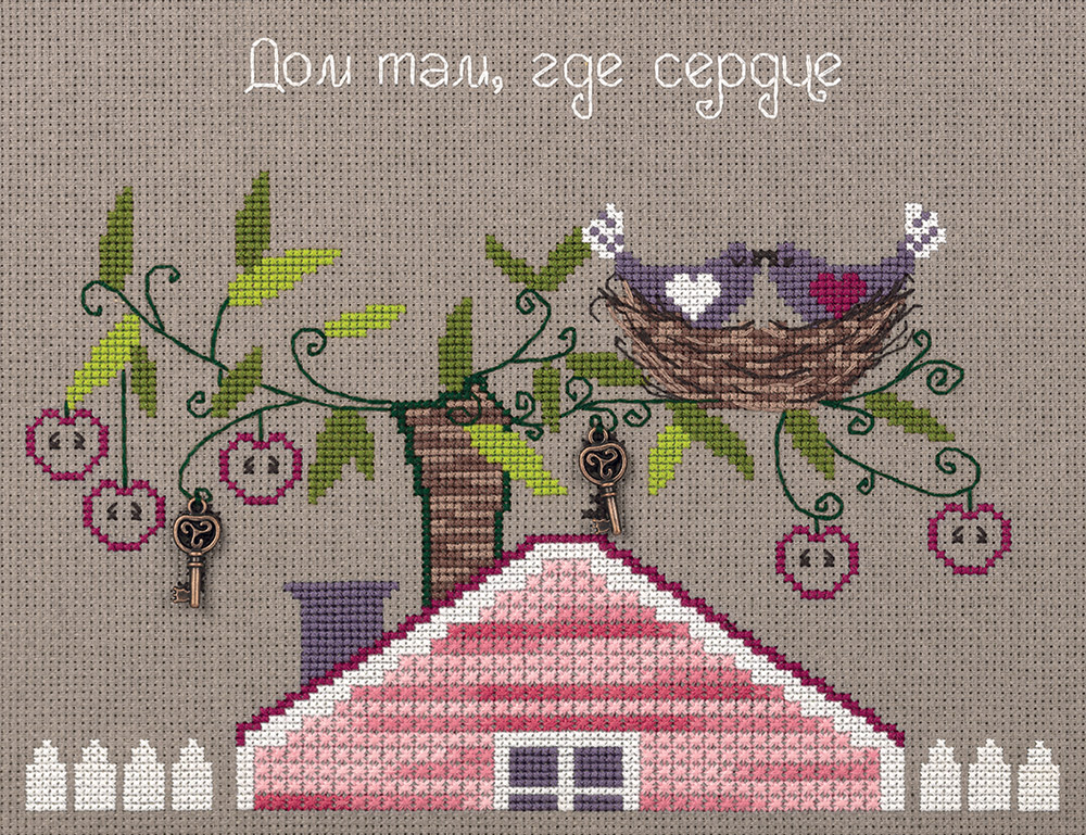 Embroidery kits PANNA CE-7056 The Cosy Nest