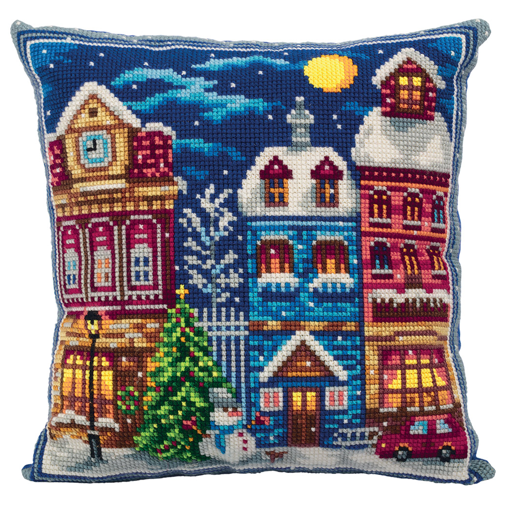 Embroidery kits PANNA PD-7084 Winter Town
