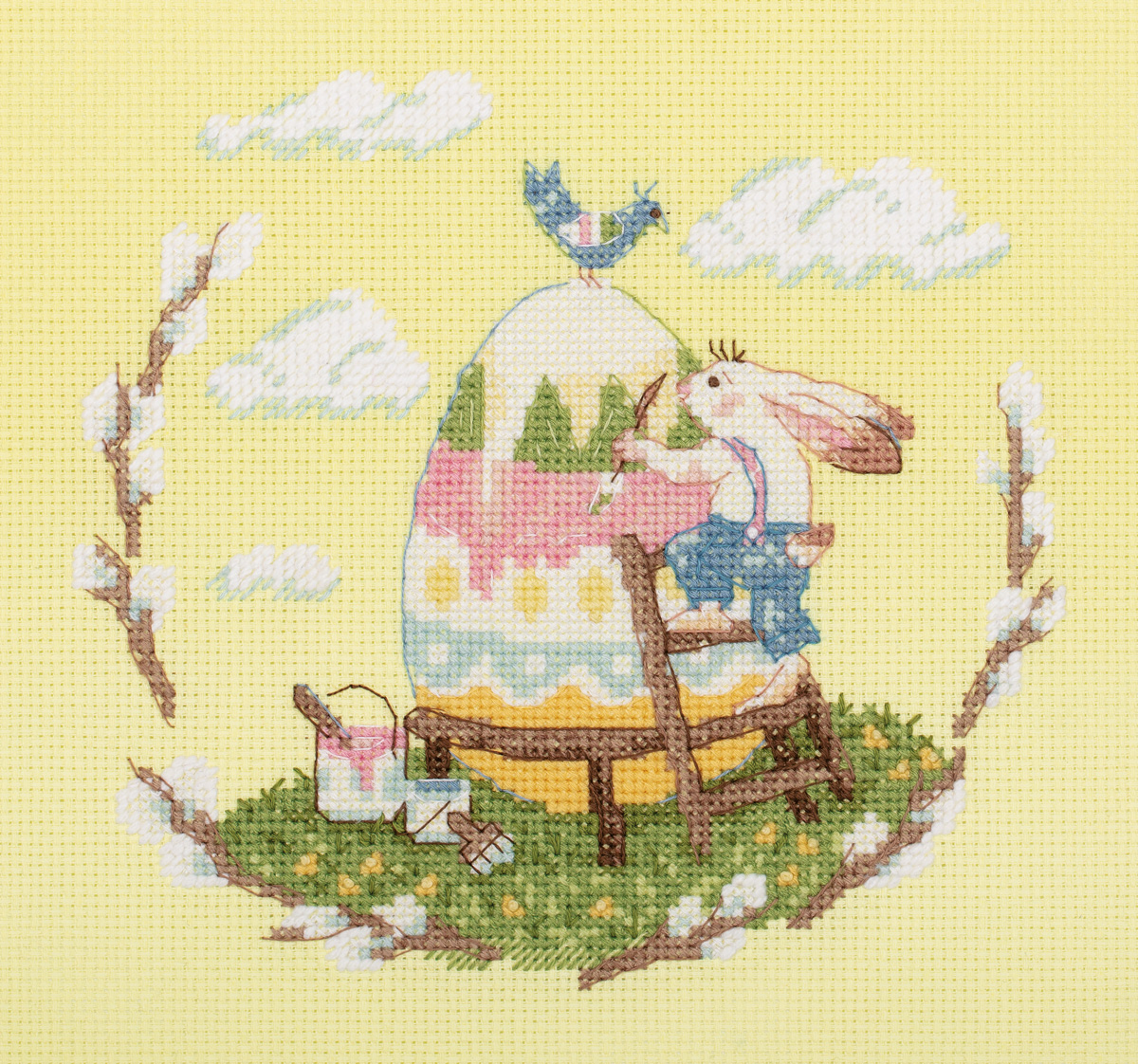 Embroidery kits PANNA 8-418 Easter Egg
