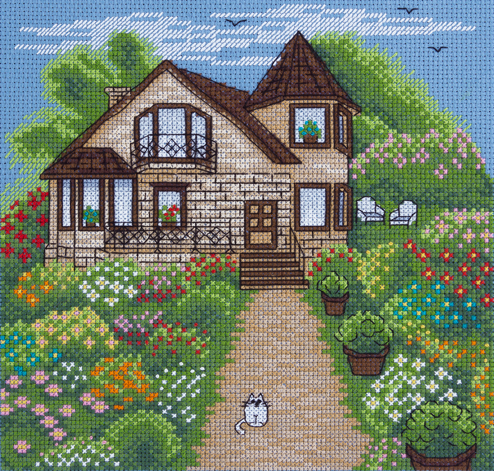 Embroidery kits PANNA 8-235 Cottage