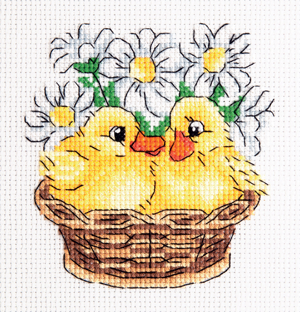 Embroidery kits PANNA 8-291 Ducklings