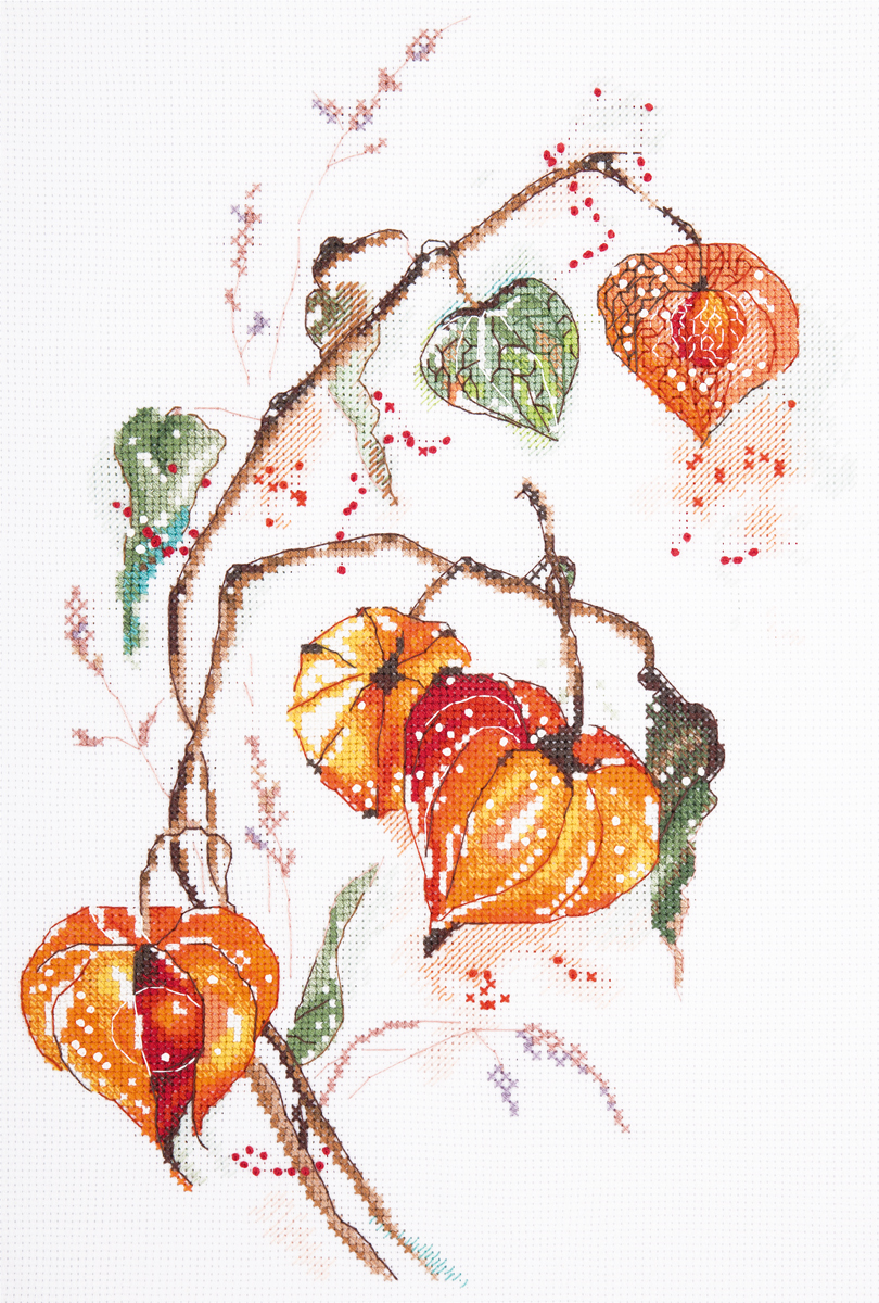 Embroidery kits PANNA C-1837 Physalis