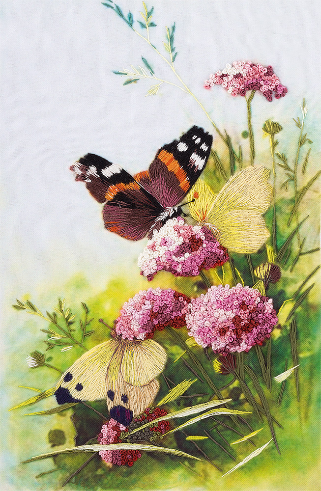 Embroidery kits PANNA Living Picture JK-2092 Butterflies