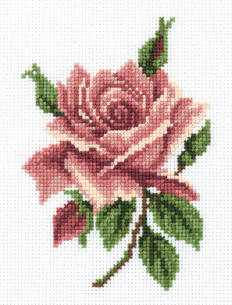Embroidery kits PANNA 8-276 Tea Rose
