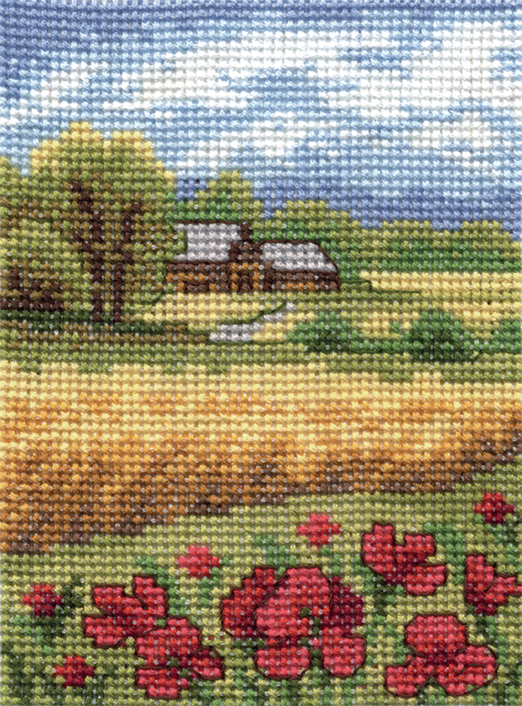 Embroidery kits PANNA PS-0102 Poppies