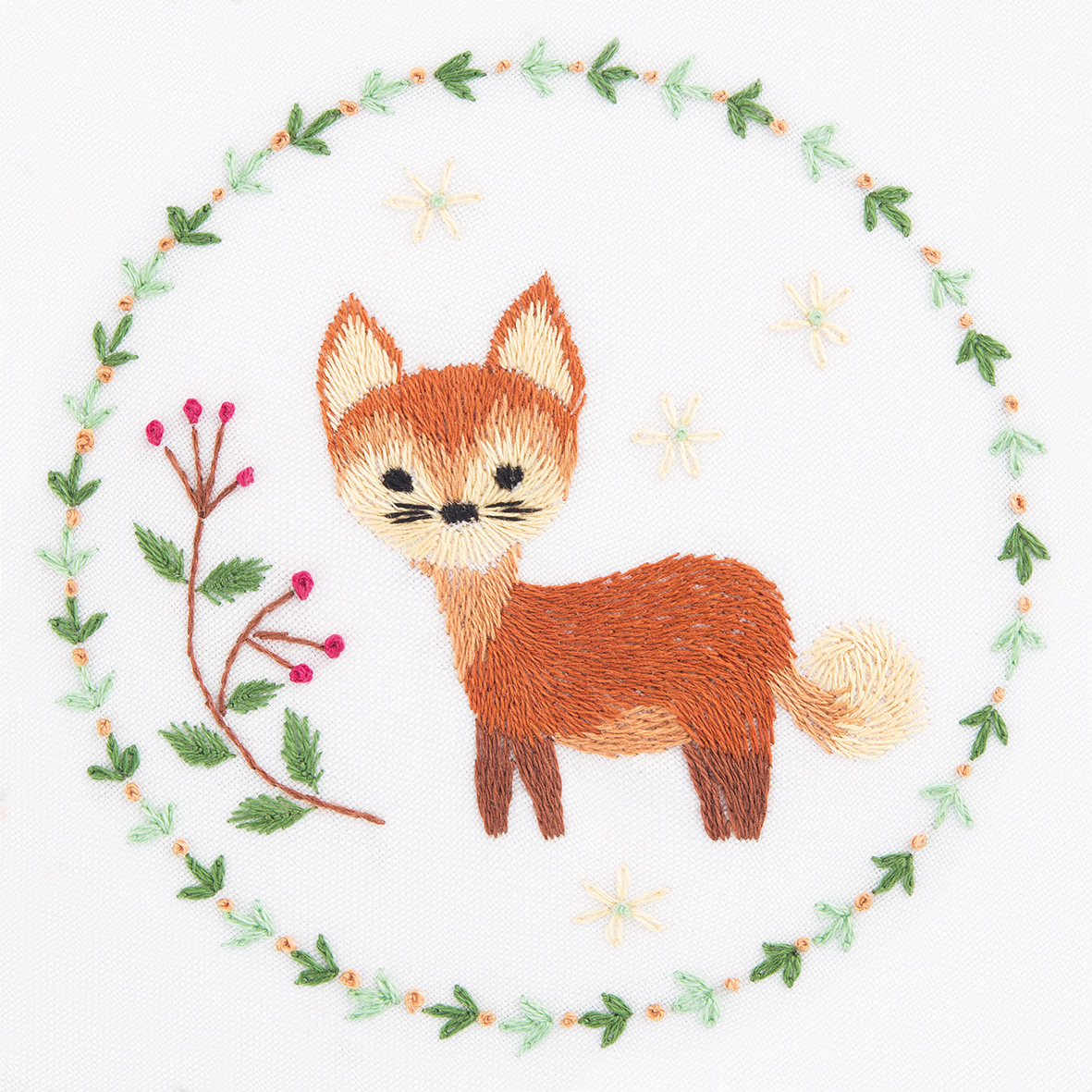 Embroidery kits PANNA Living Picture JK-2130 Red Fox