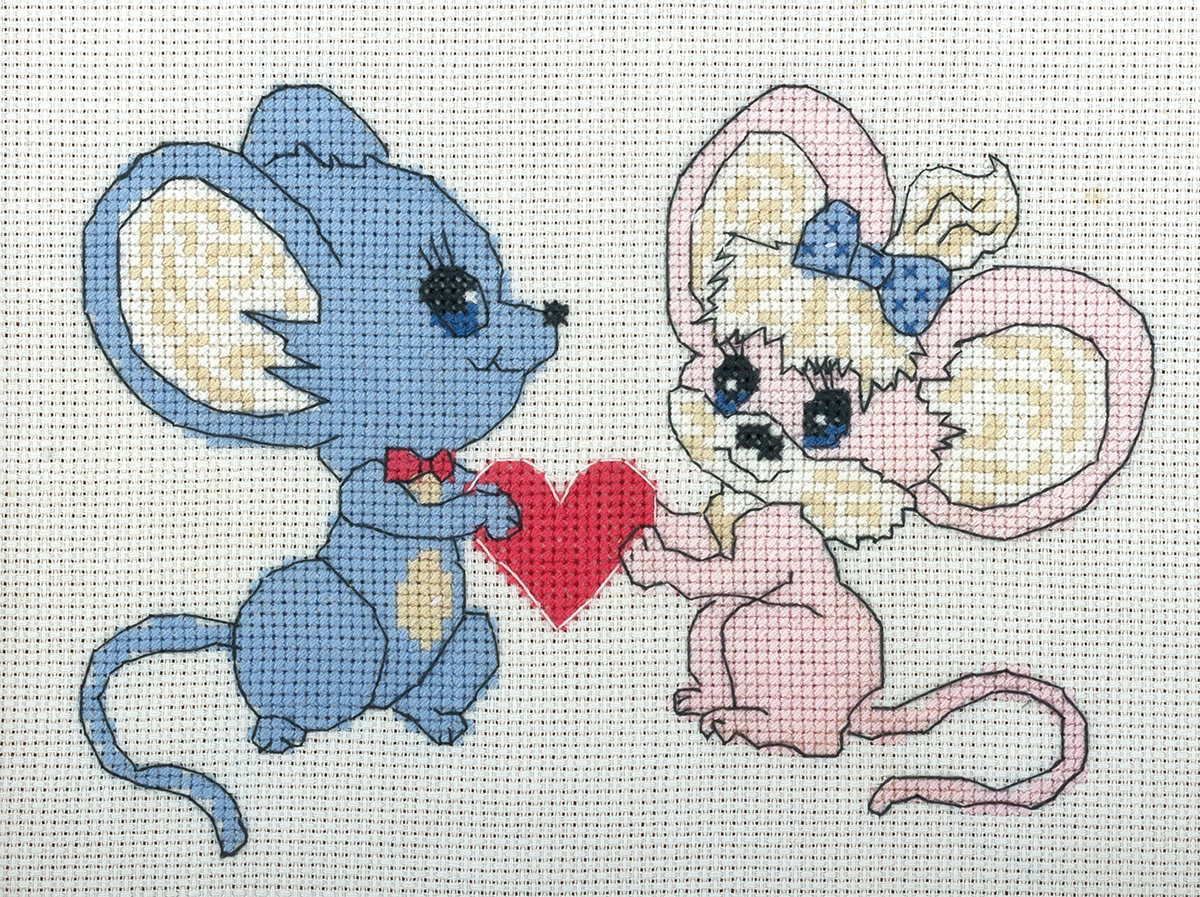 Embroidery kits PANNA D-0075 Offering of Heart and Hand