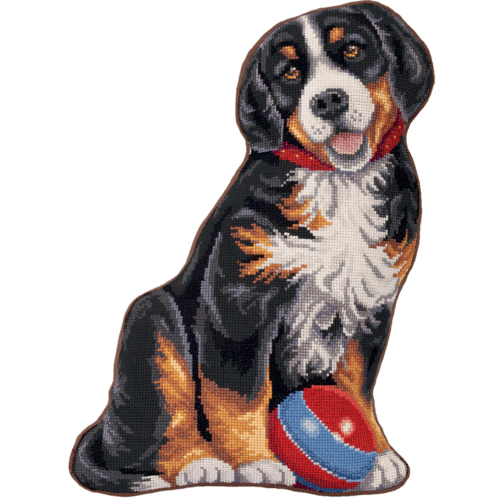 Embroidery kits PANNA PD-7022 My Puppy (Cushion Front)
