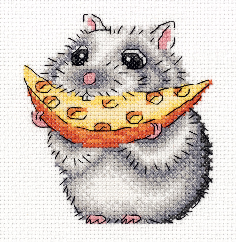 Embroidery kits PANNA 8-279 Little Hamster