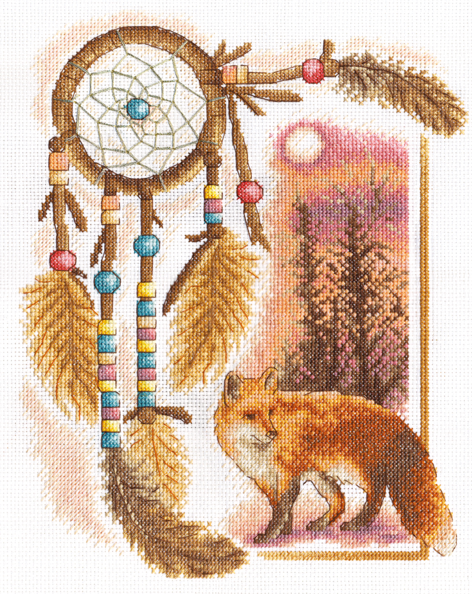 Embroidery kits PANNA J-0627 Dreamcatcher