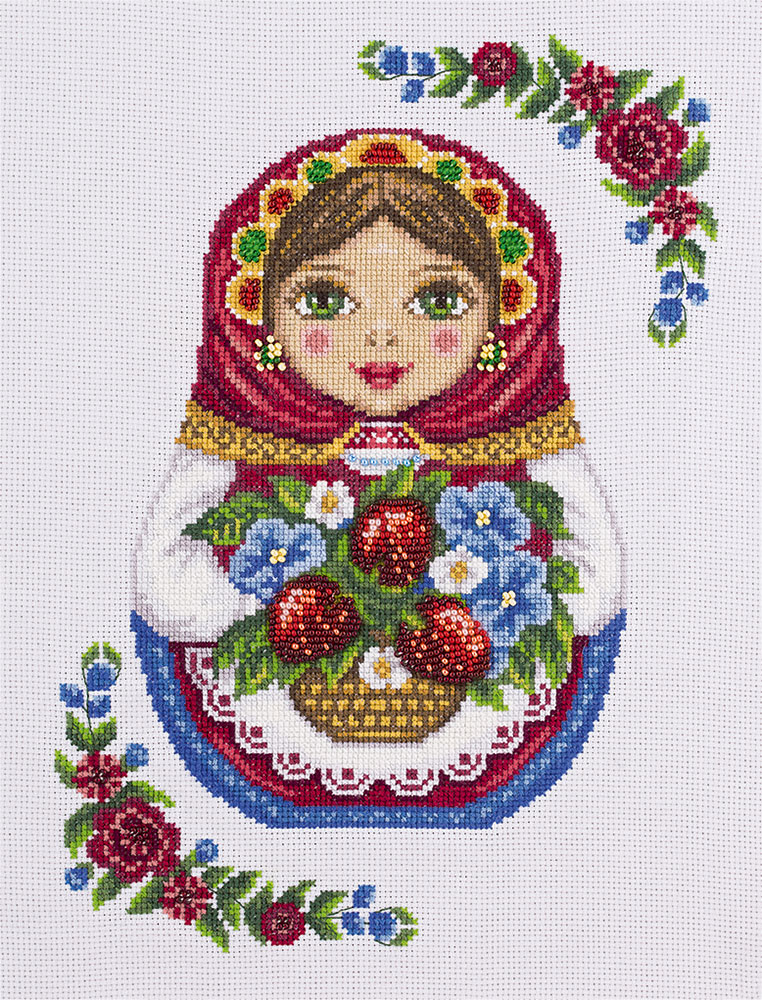 Embroidery kits PANNA NM-1699 Russian Doll