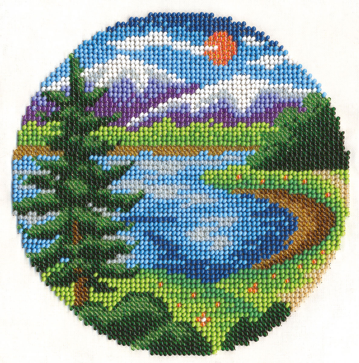Embroidery kits PANNA 8-106 By the Lake