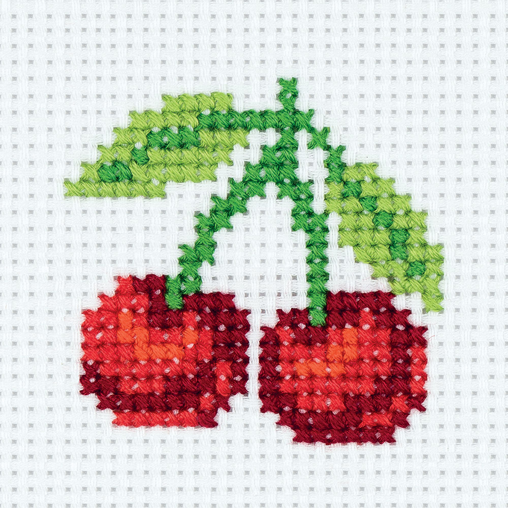 Embroidery kits PANNA 8-356 Sweet Cherry