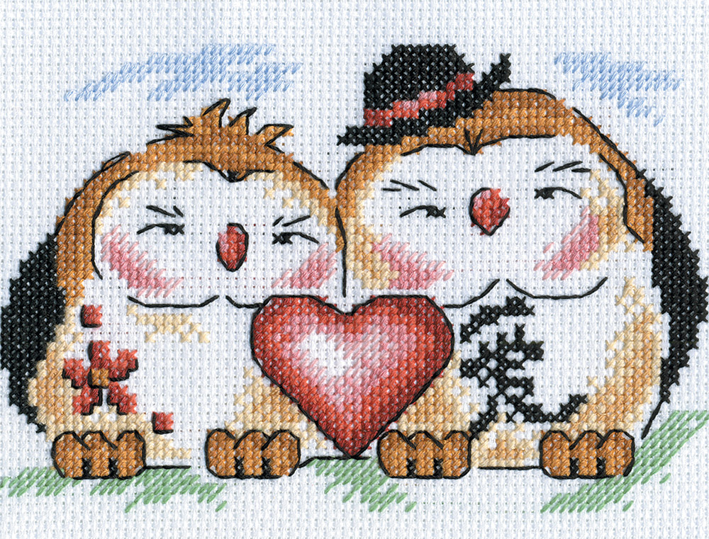 Embroidery kits PANNA I-0590 Love in the Home