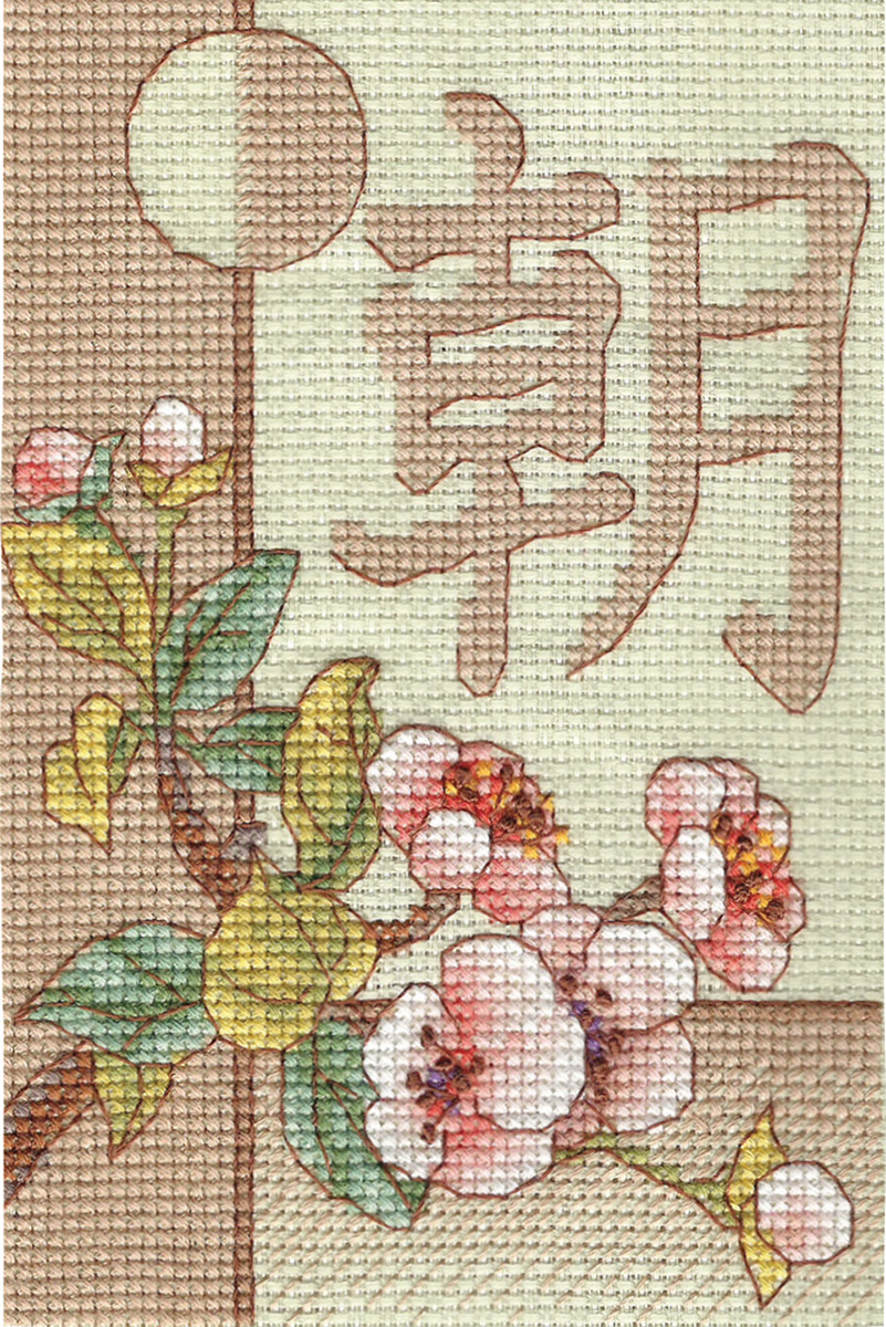 Embroidery kits PANNA I-0568 Morning
